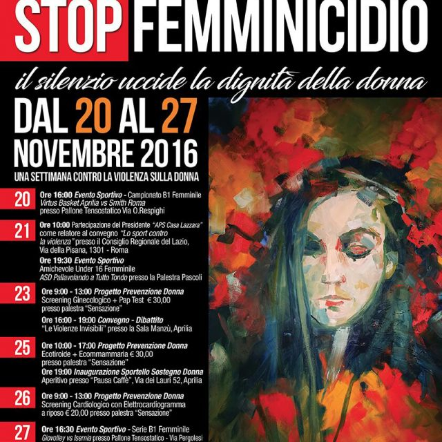 Stop Femminicidio 2016