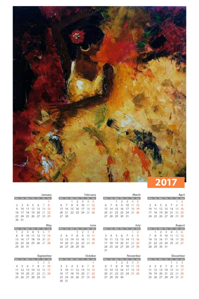 Flamenco Calendario